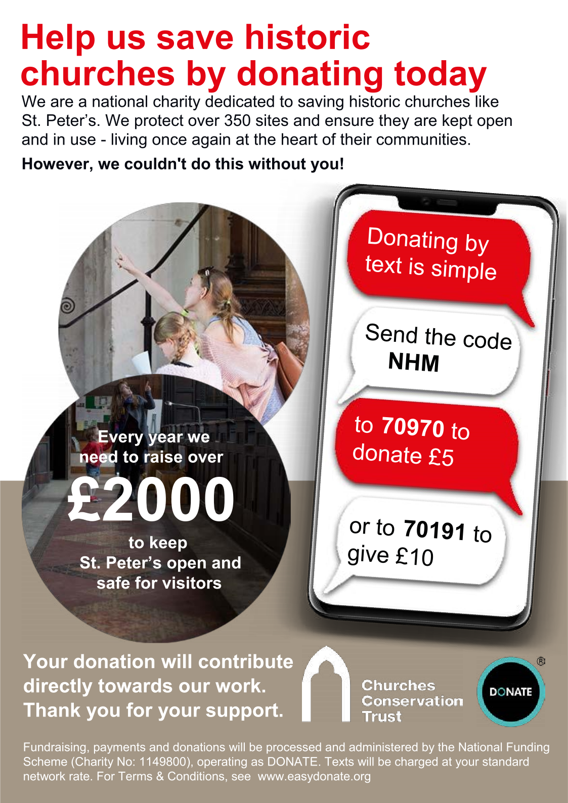 Please donate to the Churches Conservation Trust